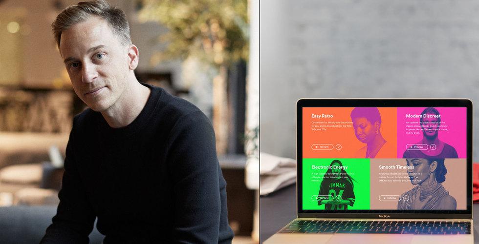 Soundtrack Your Brand rekryterar Andreas Pihlström från Pinterest