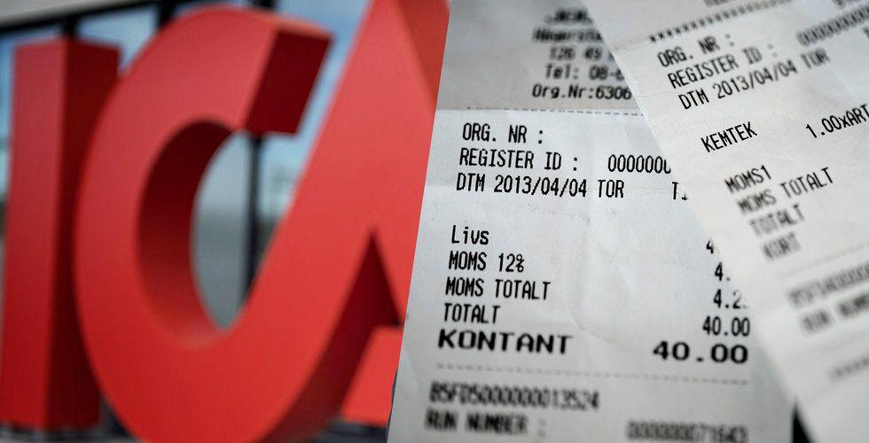 Snart kommer Ica-kunder få digitala kvitton på sina köp