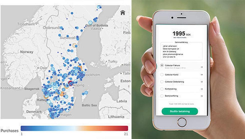 Breakit - Collector lanserar datadriven konkurrent till Klarna checkout