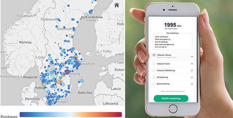 Collector lanserar datadriven konkurrent till Klarna checkout