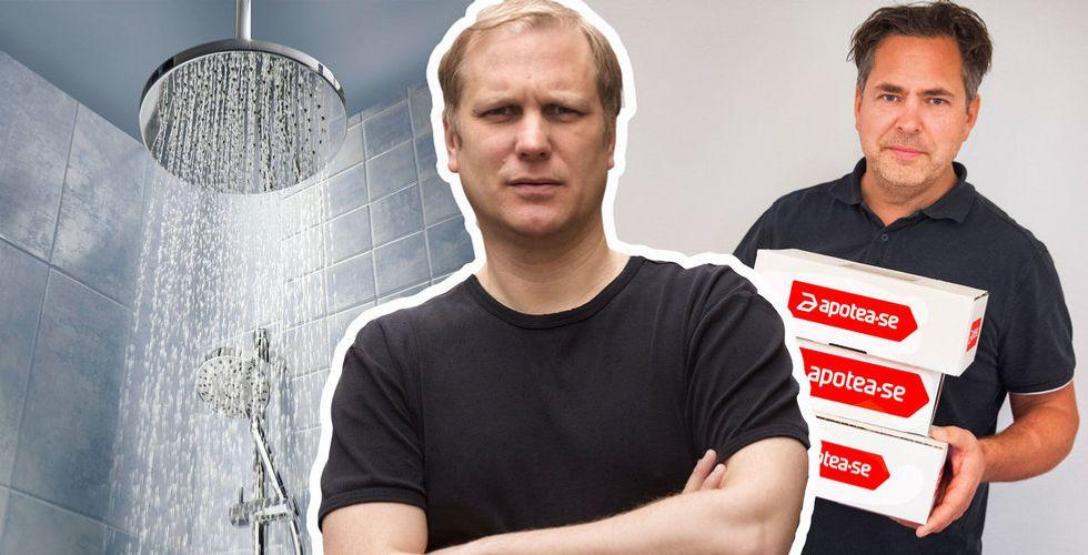 Jag fångade e-handelskungen Pär Svärdson i duschen – sen avslöjade han allt