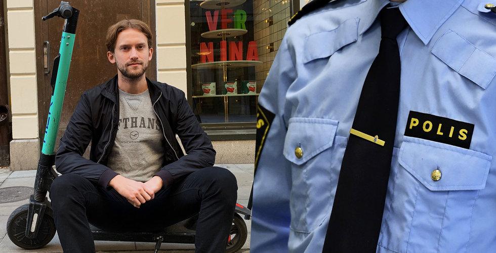Elsparkcyklarna var som en hipp ungdomsdrog – men nu har polisen vaknat