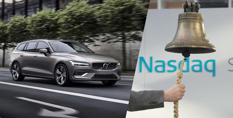 Uppgifter: Volvo cars kör närmare börsen