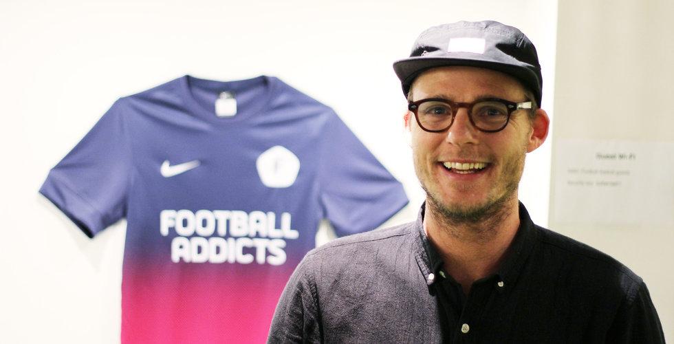 """Football addicts vd låter sig tatueras för 87.000 kronor: """"Bara inte ansiktet"""""""