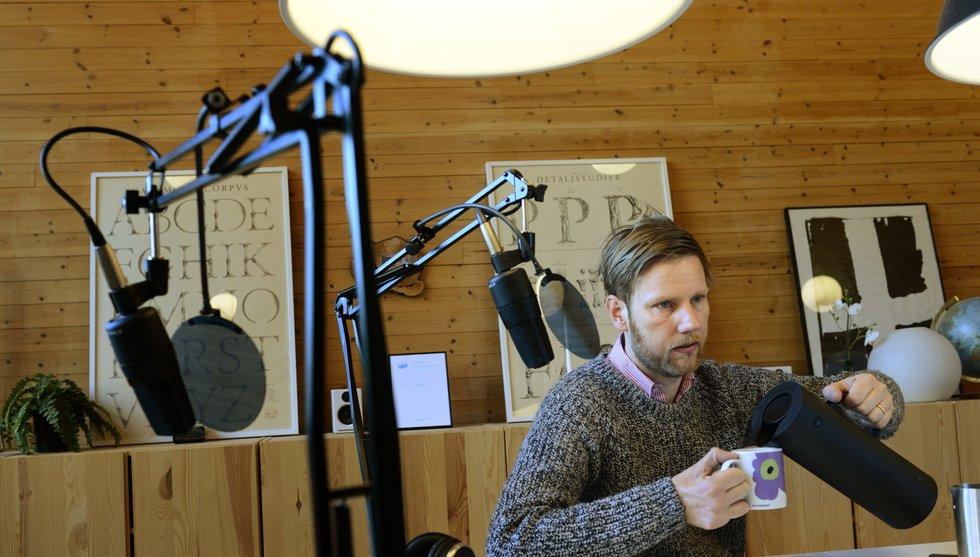 Breakit - Poddstjärnan Kristoffer Triumf bryter med Perfect Day - stannar hos Acast