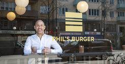 """Phil's Burgers grundare: """"Jag har föredragit pizza hela mitt liv..."""
