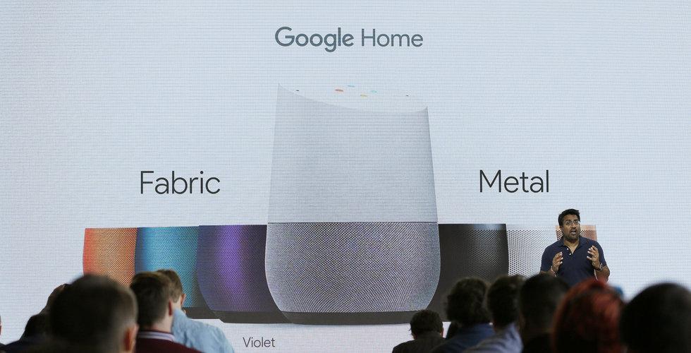Google smygtestar annonser i sin smarta hemmet-assistent