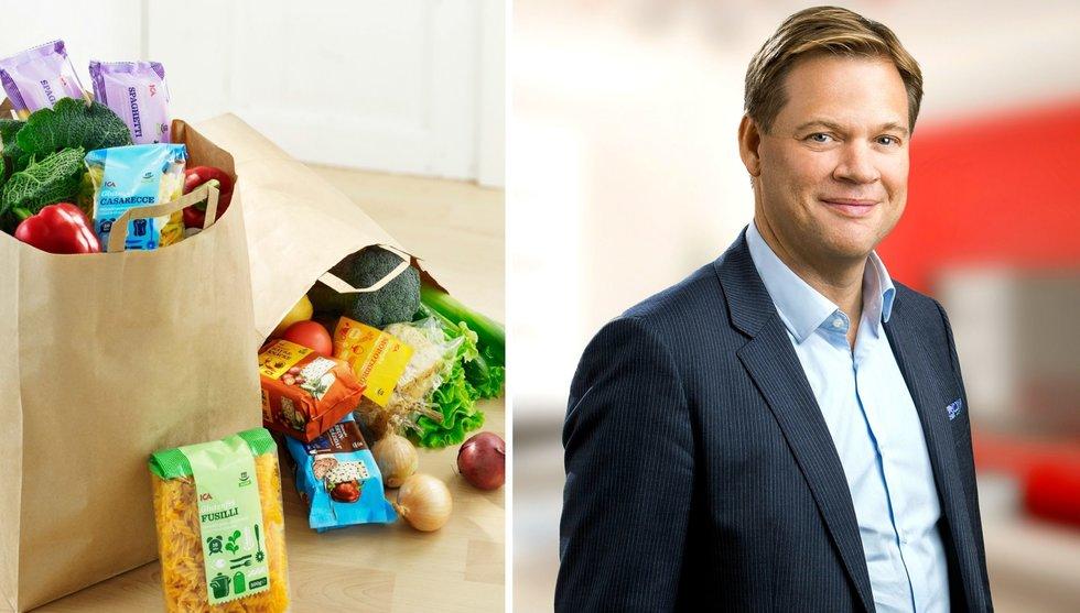 Icas toppchef Anders Svensson: 2017 ska vi vara störst på nätet