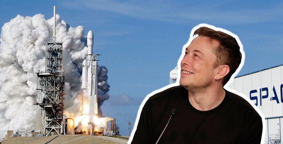 Missade du Elon Musks raket igår? Här kan du se uppskjutningen