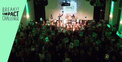 Det här är Breakit Impact Challenge – och därför är sajten grön