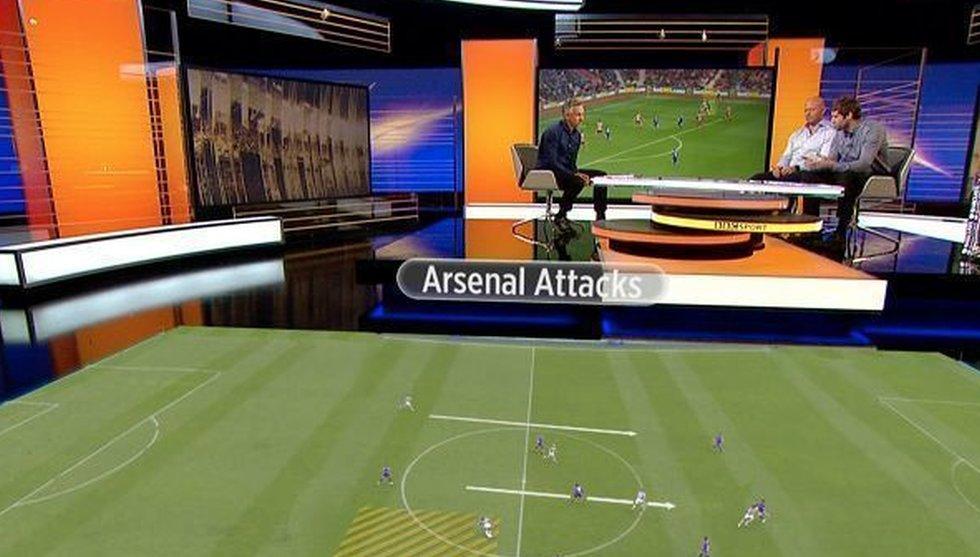 Ericssons satsning på AR-teknik ger nytt liv i BBC:s sportstudio