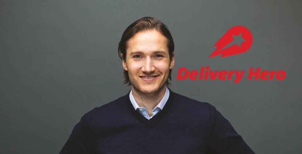 Niklas Östbergs Delivery hero närmar sig 3 miljarder i omsättning