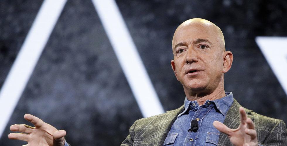 Karantänen en guldgruva för Amazon – Jeff Bezos förmögenhet ökar