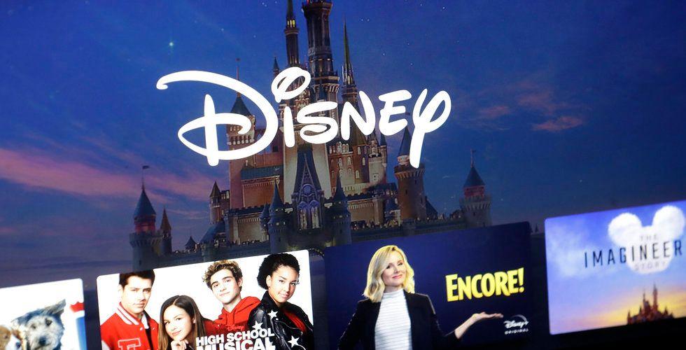 Disneys streamingtjänst nedladdad 22 miljoner gånger under november