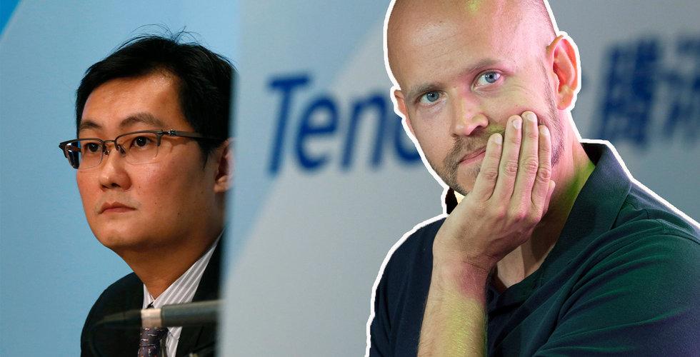 Högre intäkter än väntat för Tencent Music