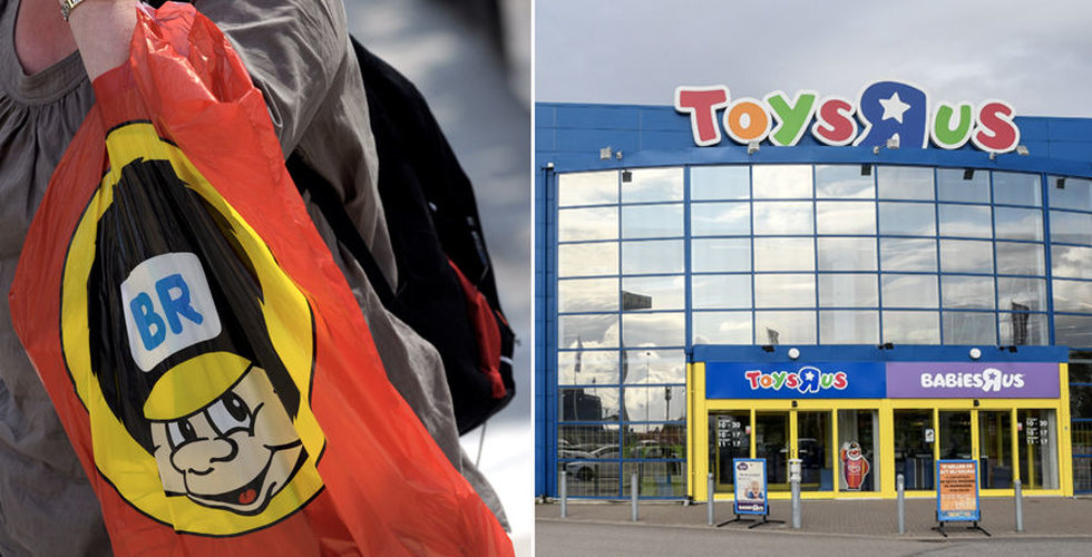 Leksakskedjan Top-Toy i konkurs efter svag julhandel