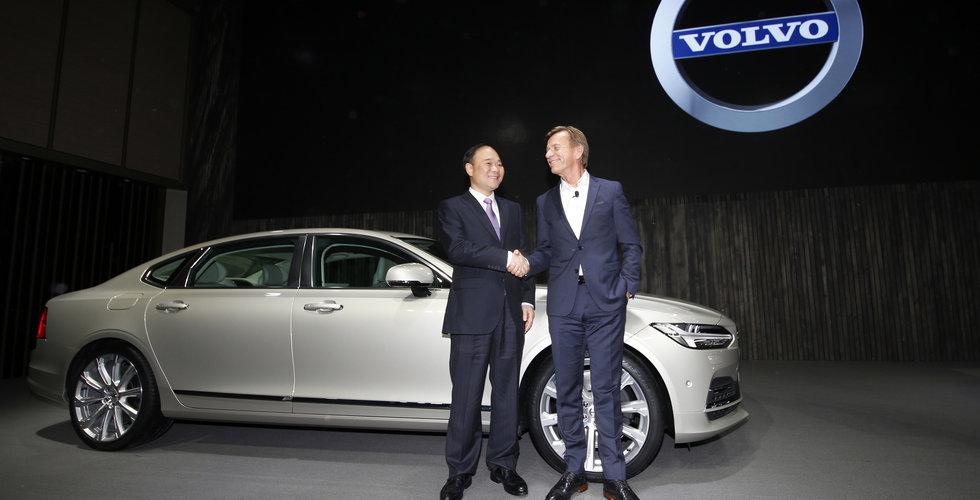 Breakit - Volvo Cars tillverkar sin första elbil i Kina