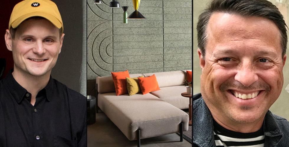 Hem.com lockar tech-giganterna med svensk design – nu tar Mattias Miksche klubban