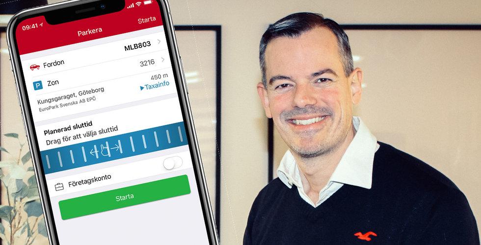 """Gasen i botten för appen SMS Park – """"En extremt kostnadseffektiv lösning"""""""