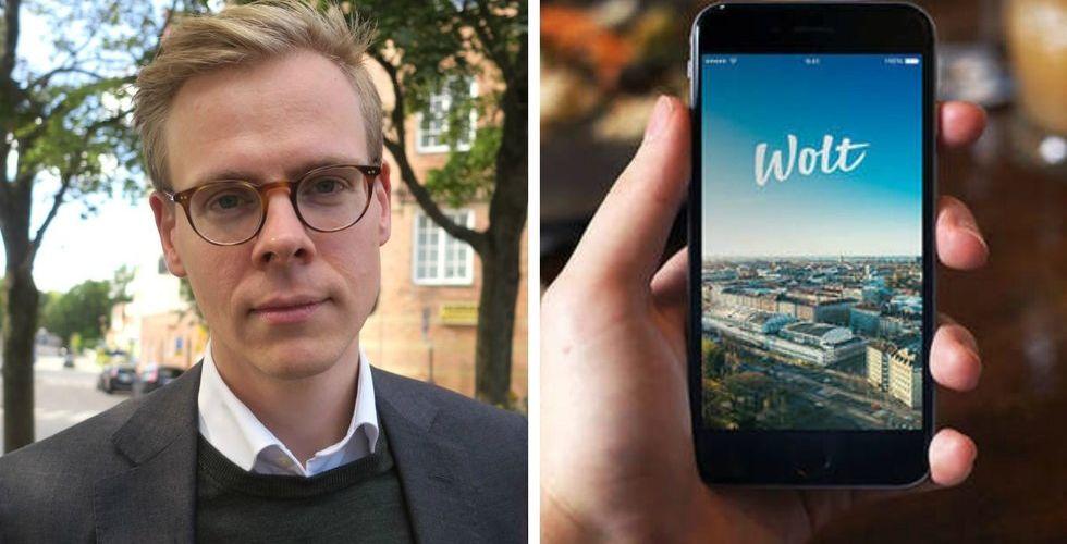 Wolt plockar in Carl Zetterqvist som ny Sverige-chef