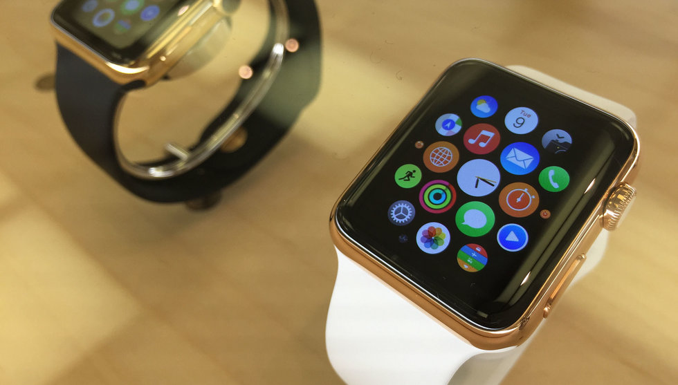 Breakit - Männen jublar över Apple Watch