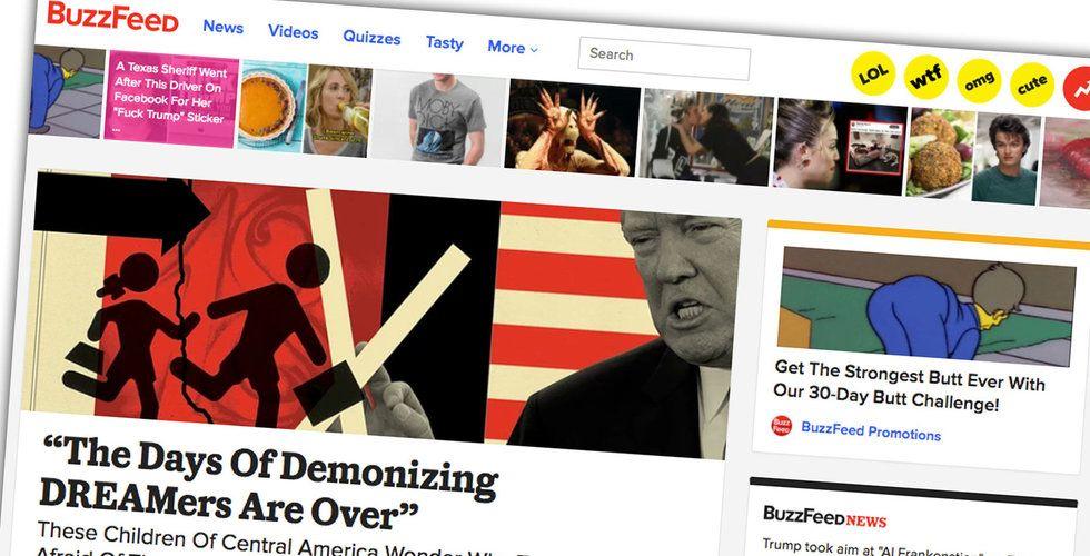 Breakit - BuzzFeed missar intäktsprognos – börsen långt borta