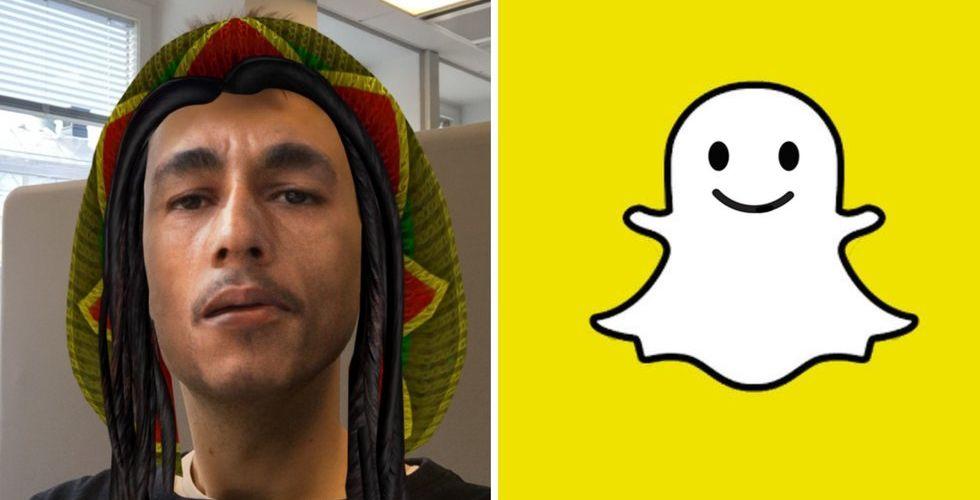 """Snapchat får kritik för """"digitalt blackface-filter"""" med Bob Marley"""
