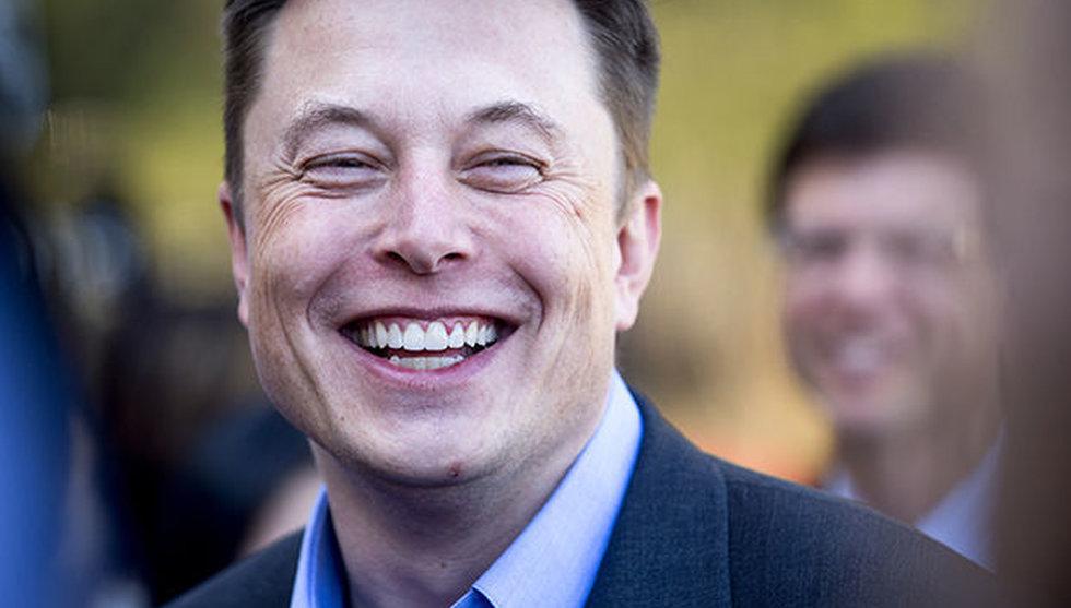 Breakit - Tesla-aktien rusar - efter hyllning från amerikansk miljardär