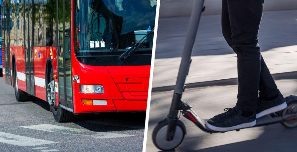 Ny undersökning: Elscootrar släpper ut mer växthusgaser än en dieselbuss
