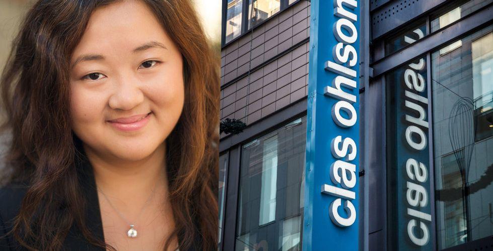 Techprofilen Mengmeng Du tar plats i Clas Ohlsons styrelse