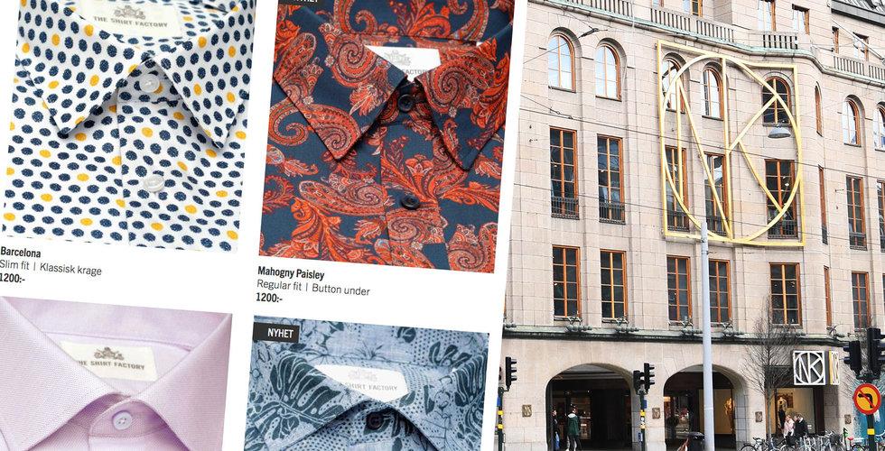 The Shirt Factory får nytt liv – Ipiccolo köper konkursboet