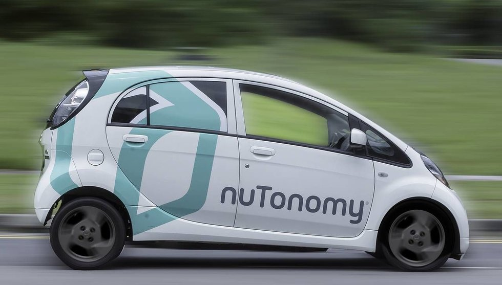 Breakit - Nutonomy kör om Uber - släpper självkörande taxi i Singapore