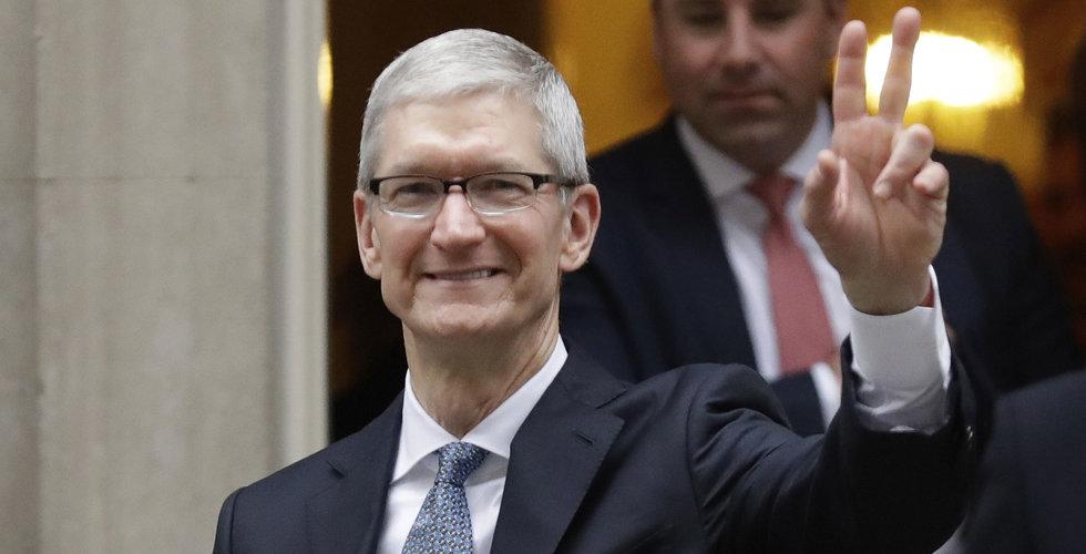 Breakit - Apples vd Tim Cook ser ljust på augmented reality