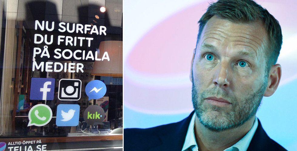 Telia följer förvaltningsrättens beslut – fri tillgång till sociala medier stoppas