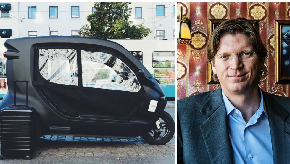 Uber vill komma runt taxiregler i Sverige - med hjälp av trehjuling
