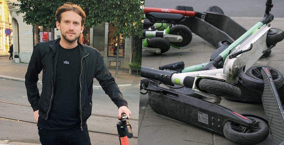 Jag har hittat den viktigaste funktionen med elsparkcyklarna – och det handlar om hat