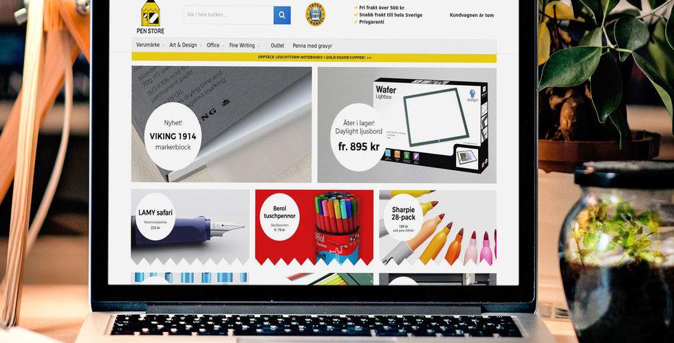 Pen Store tar in tio miljoner från Aggregate Media
