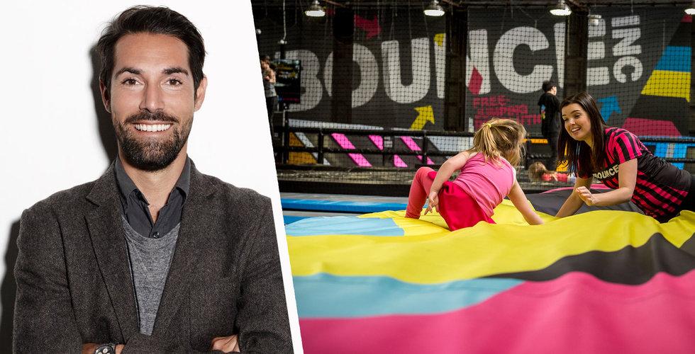 Stjärnentreprenörernas trampolinbolag Bounce i konkurs