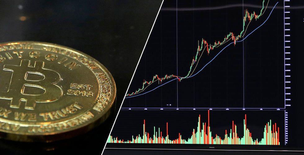 Rekyl för bitcoin – nu över 34 000 dollar