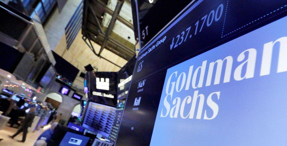 Storbanken Goldman Sachs planerar handel med kryptovalutor