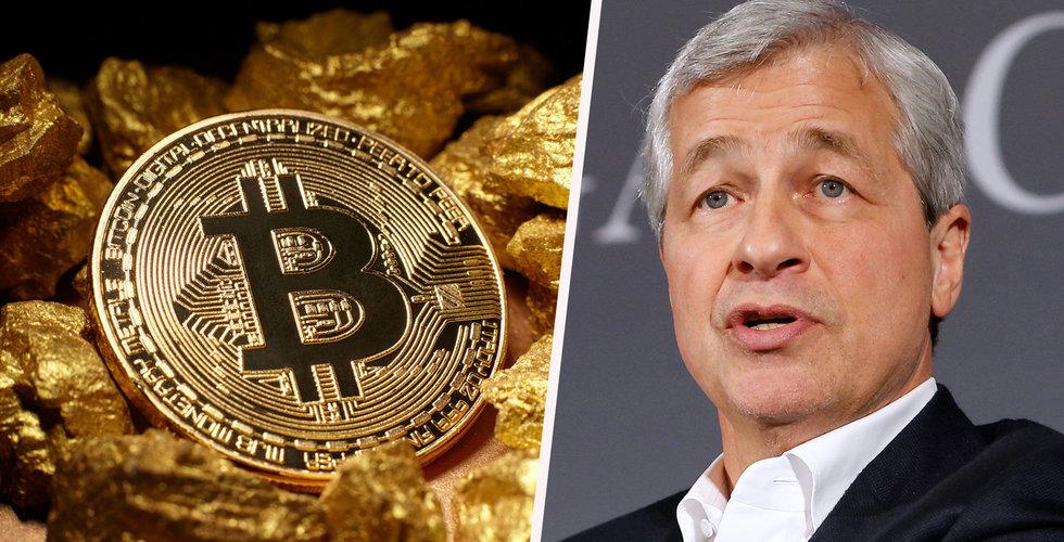 Bankchefen: Bitcoin är helt värdelöst