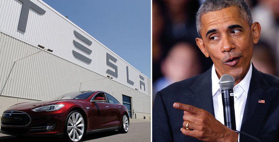 Barack Obama vill satsa 4 miljarder dollar på förarlösa bilar