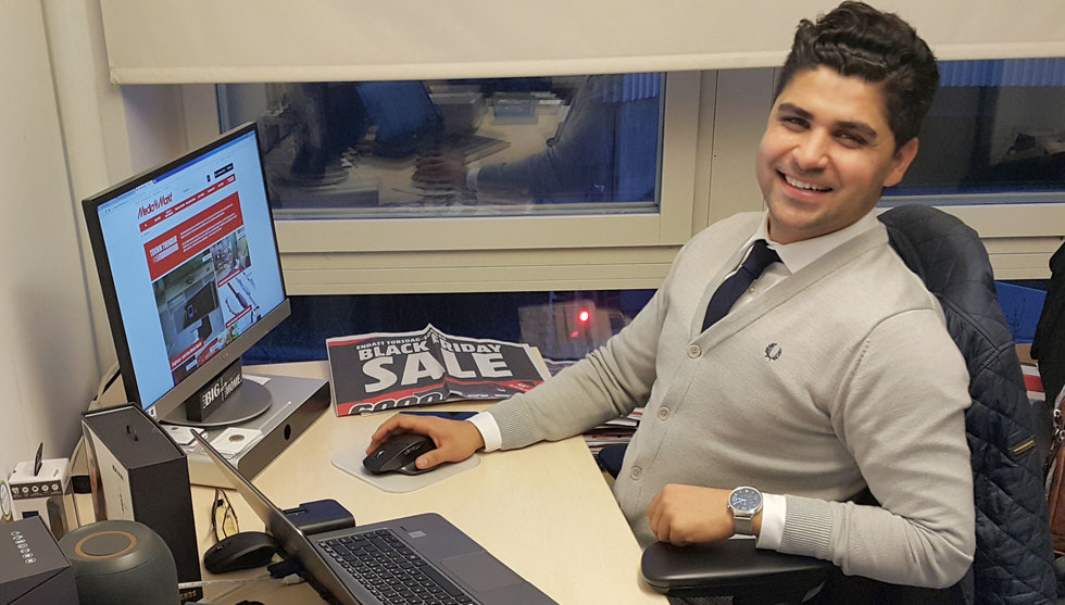 Han ska ut och ragga startups åt elektronikjätten Media Markt