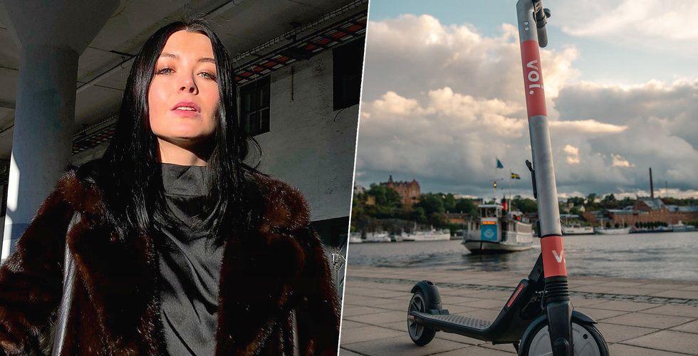 Breakit - Hon kastade en Voi i Mälaren – erbjöds bli ambassadör för elsparkcyklarna