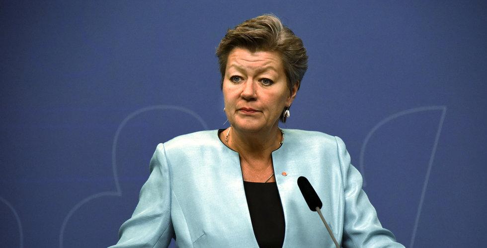 Arbetsmarknadsminister Ylva Johansson utses till kandidat som ny EU-kommissionär