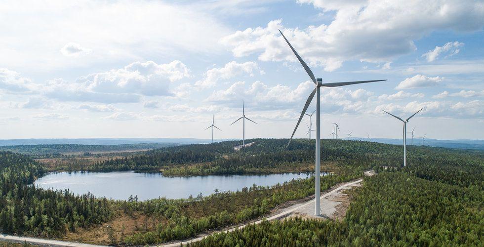 Rekord för svensk vindkraft – blåst ifrån nordiska grannarna