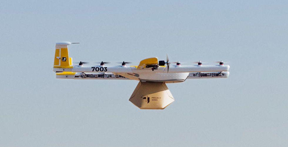 Google Wing får flygcertifiering i USA - BN