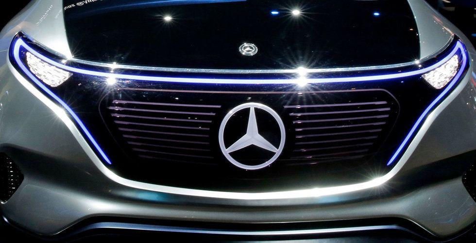 Breakit - Mercedes-Benz satsar 100 miljarder kronor på elbilar