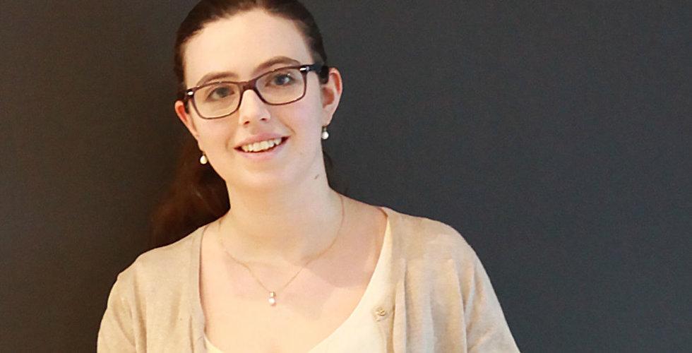"""Breakit - Hanna Kerek gör kodkurser för kvinnor: """"Jag vill ha en robotkock!"""""""