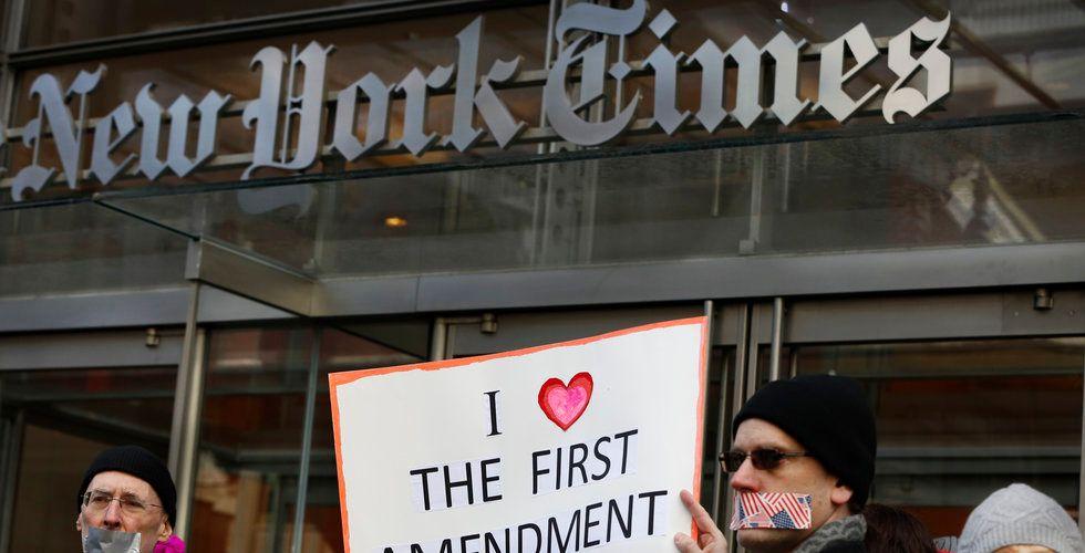 Så många betalande digitala prenumeranter har New York Times